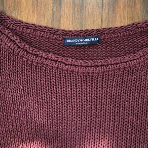Brandy Melville Sweaters - Brandy Melville Cable Knit Sweater